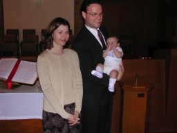 Highlight for Album: Joshua's Christening, Spring 2001